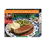 Amy's Veggie Loaf Whole Meal, Light in Sodium, Organic, 10-Ounce Boxes (Pack of 12)