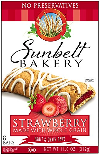 Sunbelt Bakery® Strawberry Fruit & Grain [ 3 Pack ] by Sunbelt