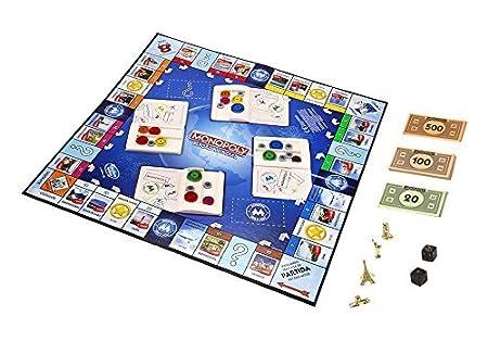 Hasbro Gaming Juego De Mesa Monopoly Edicion Mundial B2348105