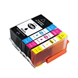 4 Pack Compatible High Yield Inkjet Cartridge 920XL 920 for HP Officejet 6500 6500A Plus 6000 7000 7500 7500a Plus Printer