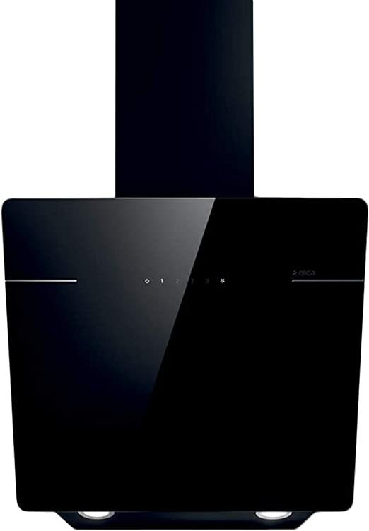 Elica Lessenza BL/A/60 De pared Negro C - Campana (Canalizado, 65 dB, 45 cm, 60 cm, De pared, Negro): Amazon.es: Hogar