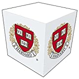 Harvard Crimson Sticky Note Memo Cube - 550 Sheets