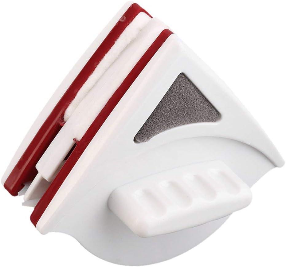Sanzhileg Ventana magnética limpiadora de Vidrio de Doble Cara Ajustable Conveniente para Herramientas de Limpieza de Vidrio Hueco de Doble Capa de 15-22 mm - Blanco: Amazon.es: Hogar