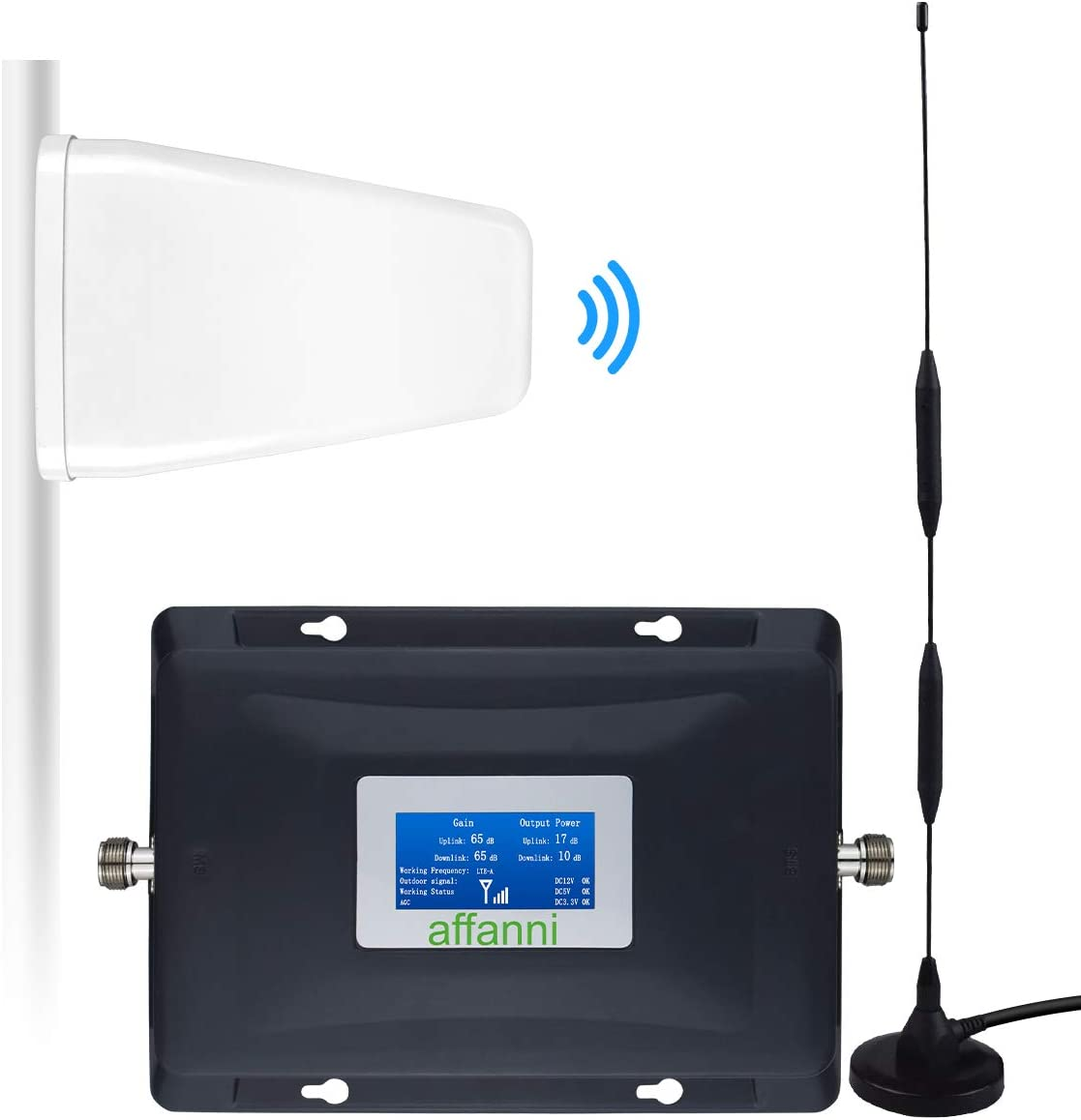 AT/&T Cell Phone Signal Booster T-Mobile US Cellular 700Mhz FDD Band12//17 4G LTE ATT Cell Phone Booster Repeater AT/&T Mobile Signal Booster Amplifier Do not Include Indoor//Outdoor Antennas