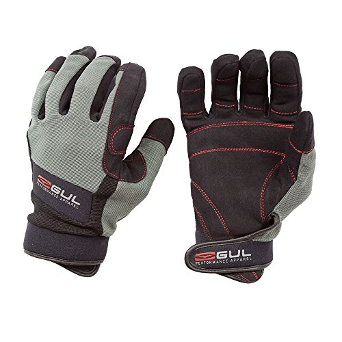 Gul Summer Full Finger Junior Sailing Glove 2017 - Black/Charcoal
