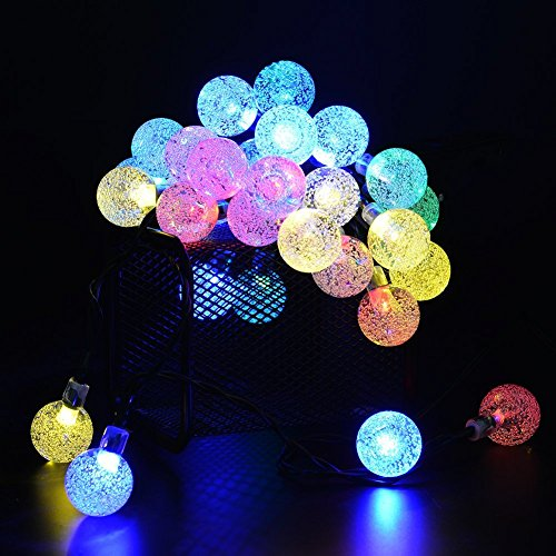 Outdoor-Solar-String-Light-garland-30LED-Fairy-String-Lights-Bubble-Crystal-Ball-Lights-Decorative-Lighting-for-Indoor-Garden-Home-Patio-Lawn-Party-Holiday-Ooutdoor-Decor20FT