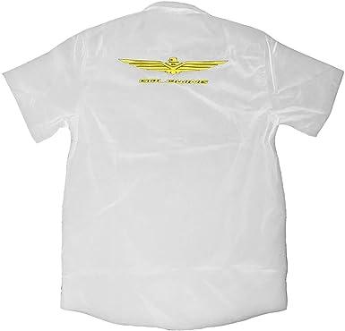 individual. Camisa Bordada Goldwing M/Corta Hombre (L, Negro): Amazon.es: Ropa y accesorios