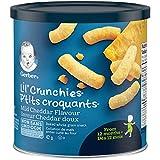 GERBER LIL' CRUNCHIES Mild Cheddar, Toddler Snacks, 12+ months, 42 g, 6 Pack
