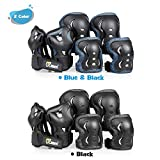JBM Youth Protective Gear Set Knee Pads and Elbow
