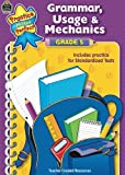 img - for Grammar, Usage & Mechanics Grade 5 (Practice Makes Perfect (Teacher Created Materials)) book / textbook / text book