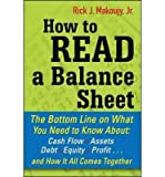 img - for How to Read a Balance Sheet: The Bottom Line on What You Need to Know About Cash Flow, Assets, Debt, Equity, Profit...and How It All Comes Together (Paperback) - Common book / textbook / text book