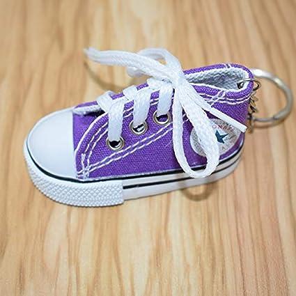 ahliwei Llavero Colgante Zapatos De Lona Llavero Lona Fina ...
