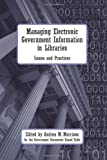 download ebook managing electronic government information in libraries by andrea m. morrison (2009-01-30) pdf epub