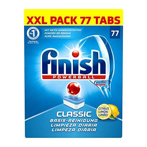Finish Classic Citrus XXL Pack, 1er Pack (1 x 77 Tabs)