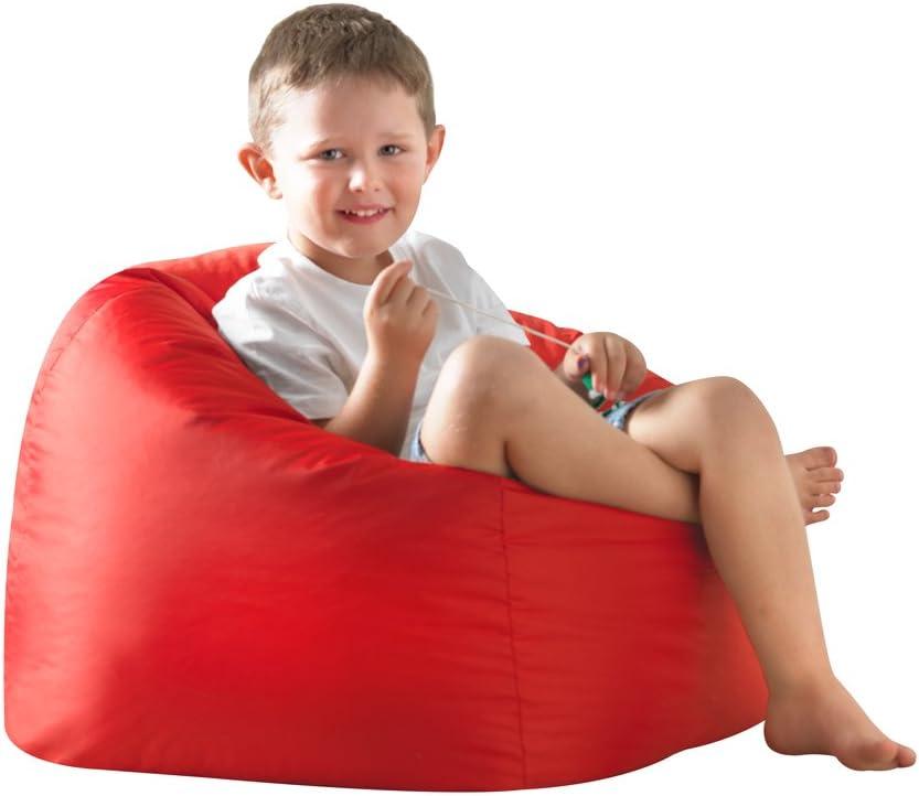 100/% Water Resistant Weather Proof Bean Bag Bazaar/® Large Childrens Bean Bags Indoor Outdoor Huge Kids Bean Bag Chair Red