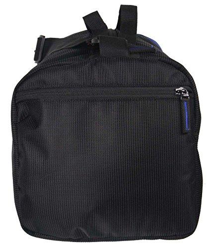 Barril resistentes viaje gimnasio de deportes Polestar 19 Litros Mochila con cuerdas de agua bolsa Negro y azul