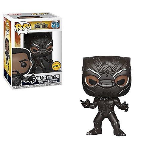 FunKo POP! Marvel Black Panther 3.75 CHASE VARIANT Vinyl Figure