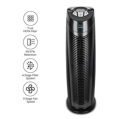 HEPA Air Purifier – Air Cleaner with Genuine HEPA & Active Carbon...