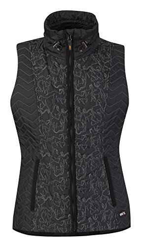 Womens Poly Fill Quilted Vest - 5