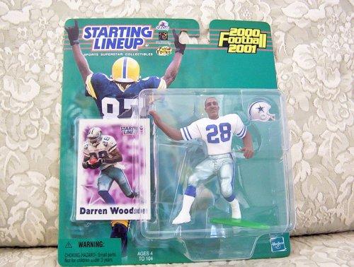 2000 NFL Starting Lineup Hobby Edition - Darren Woodson - Dallas Cowboys