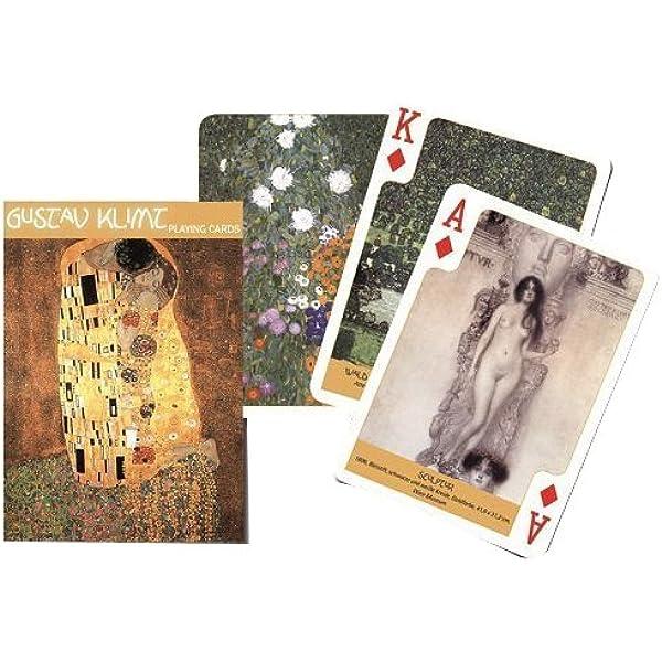 Self Portrait single deck By Piatnik Playing Cards