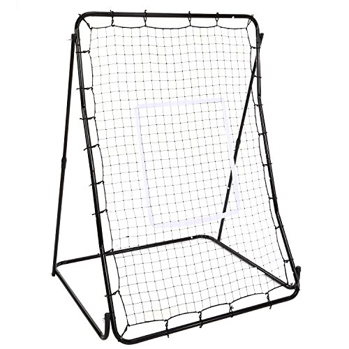 OUTCAMER Adjustable Baseball Softball Soccer Rebounder Pitch Back Net Training Screen by OUTCAMER