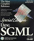 img - for Using SGML: Special Edition book / textbook / text book