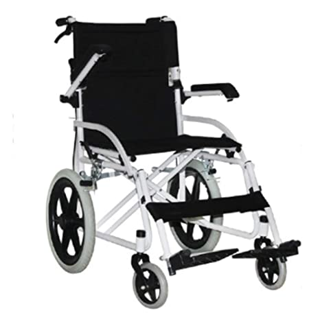 SPONSOKT Silla de ruedas plegable liviana Conducir ...