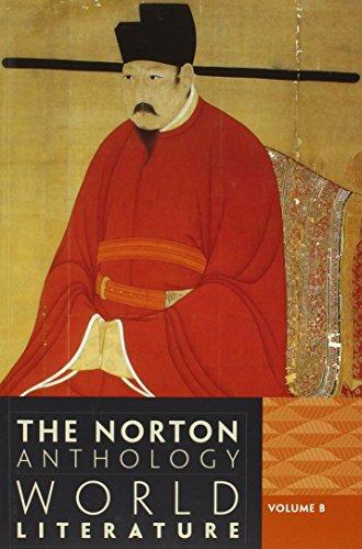 the norton anthology of world literature volume 1