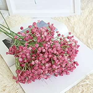 DEESEE(TM) NewArtificial Gypsophila Floral Flower Fake Silk Wedding Party Bouquet Home Decor Soft Gum Full Sky Star Simulation Flowers 88