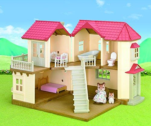 sylvanian families 2748 maison de poup e coffret grande maison tradition jeux et jouets. Black Bedroom Furniture Sets. Home Design Ideas