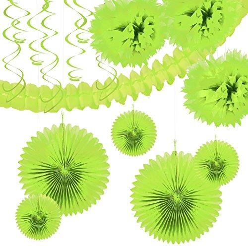 Lime Green Festive Decoration
