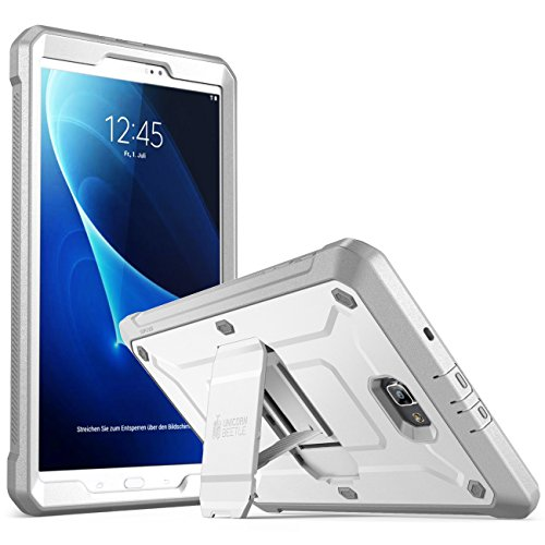 SUPCASE Galaxy Tab A 10.1 Case,[Heavy Duty] [Unicorn Beetle Pro Series] Full-Body Rugged Protective Case with Built-In Screen Protector for Samsung Galaxy Tab A 10.1 Inch 2016 (No Pen Version) (Whit
