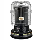 Dyna-Glo RMC-95C6B Indoor Kerosene Convection Heater, 23000 BTU, Black