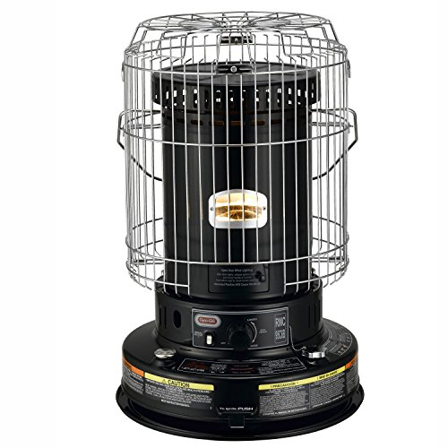 Dyna-Glo RMC-95C6B Indoor Kerosene Convection Heater, 23000