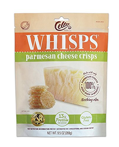 Cello Whisps 100% Cheese Crisps and Chips