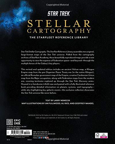 Jual Star Trek Stellar Cartography The Starfleet Reference Library