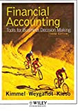 Financial Accounting: Tools for Business Decision Making Third Edition, Paul D. Kimmel, Jerry J. Weygandt, Donald E. Kieso, 047169195X