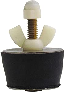 No. 9 Winter Rubber Plug with Valve for 1-1/2 Inch Fitting, with Blow Thru Valve