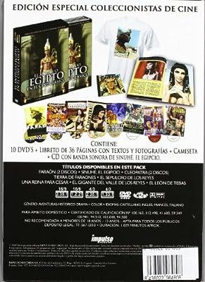 El Antiguo Egipto En El Cine Clásico Incluye 8 Películas DVD ...