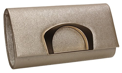 Night Wedding Out Marcie Clutch SWANKYSWANS Celebrity Party Ladies Evening Prom Gold Bag IwOxgq