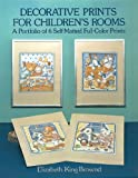 img - for Decorative Prints for Children's Rooms: A Portfolio of 6 Self-Matted Full-Color Prints book / textbook / text book
