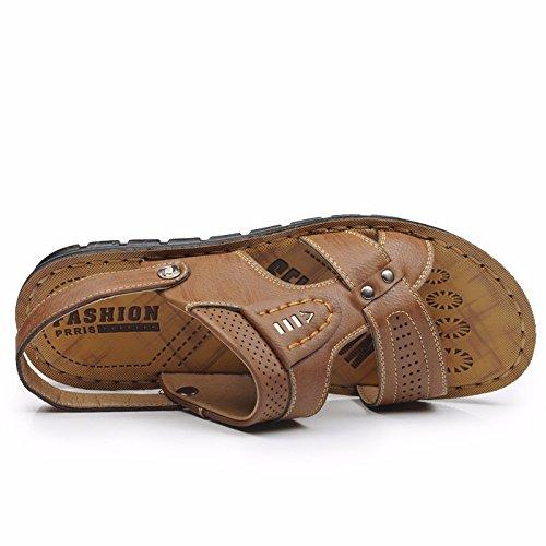 estate Uomini sandali Spiaggia scarpa Uomini traspirante Tempo libero sandali Il nuovo sandali Uomini scarpa ,Marrone ,US=7.5,UK=7,EU=40 2/3,CN=41