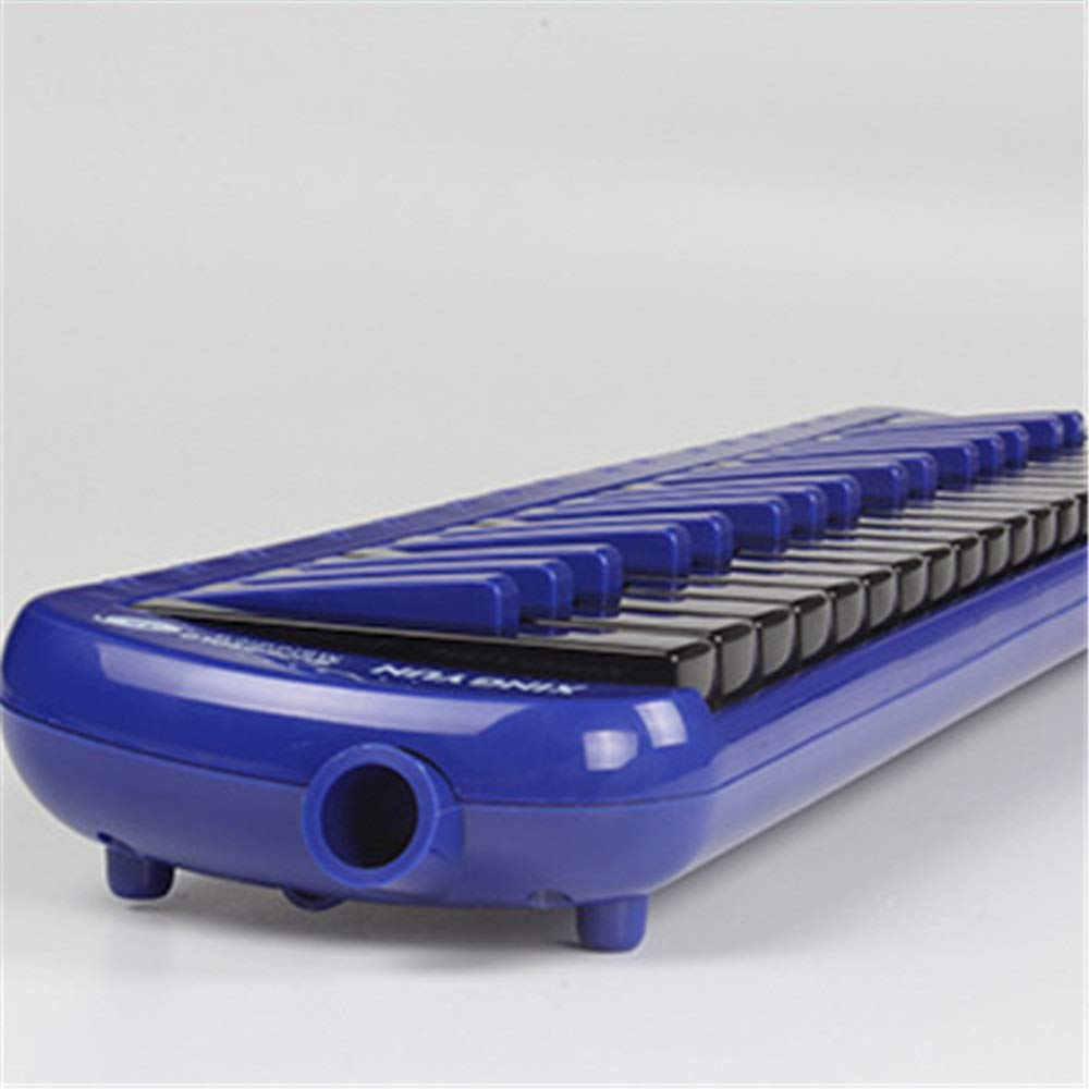 Melodica Musical Instrument Pianica Melodica 37 Piano Keys Kids Musical Instrument Gift Toy For Music Lovers Beginners Portable With Mouthpieces Tube Sets Carrying Bag Black Red Blue for Music Lovers by Shirleyle-MU (Image #3)