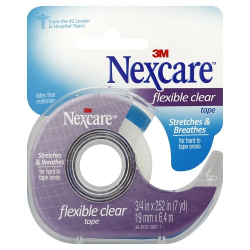 Nexcare Nexcare Clear Tape 3/4'' X 7 Yd (Pack of 4) by 3M