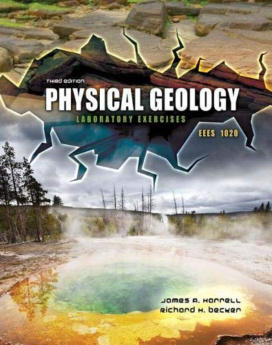 Physical Geology Eees 1020 Laboratory Exercises