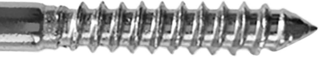 yotijar Heavy Duty 316 Stainless Steel Wood Screw Eye