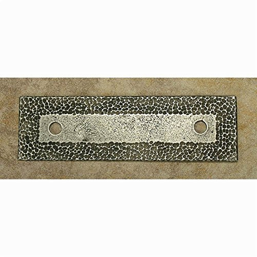 UPC 889932610491, Hammersmith 3'ctc backplate (Set of 10) (Pewter with Copper)