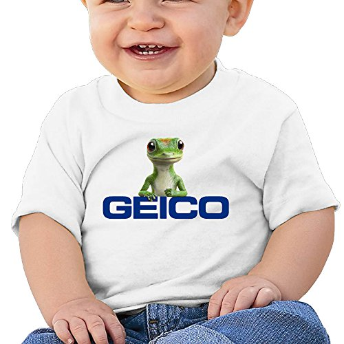 Price comparison product image Boss-Seller GEICO 400 Short Sleeve Shirts For 6-24 Months Infant Size 24 Months White