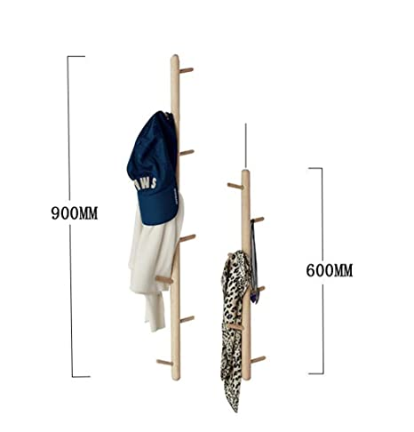 Coat racks.w Gyp Percha Aterrizaje Madera Maciza Perchero ...
